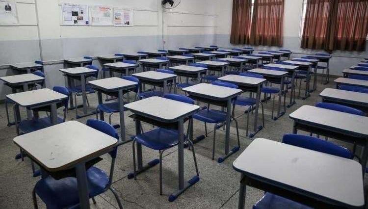Escolas vazias na volta às aulas em São Paulo