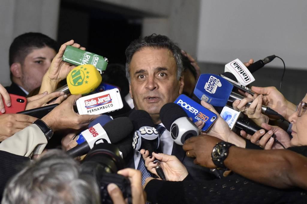 Aécio provoca Doria e pede prévias no PSDB para 2022