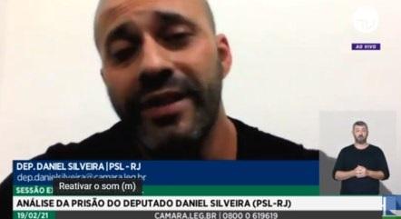 """Daniel Silveira: """"Peço desculpas ao povo brasileiro pelas minhas palavras, não ofereço risco à democracia"""""""