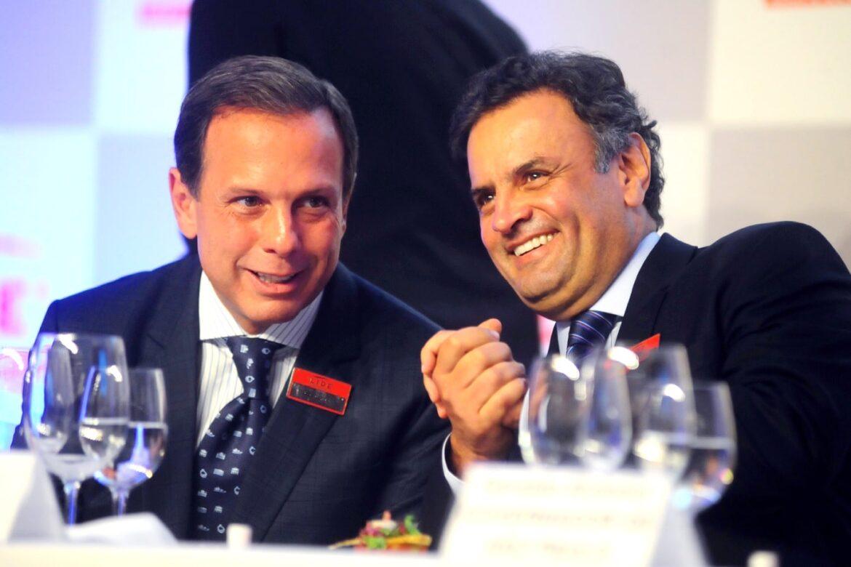 Doria quer expulsar Aécio, liderar o PSDB e trazer Rodrigo Maia para o partido
