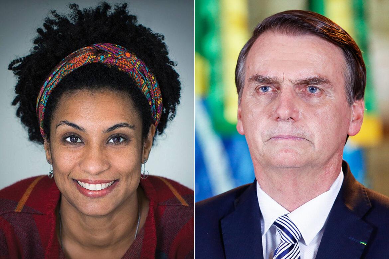 Bolsonaro é citado em escutas que investigam assassino de Marielle e MP encerra investigação