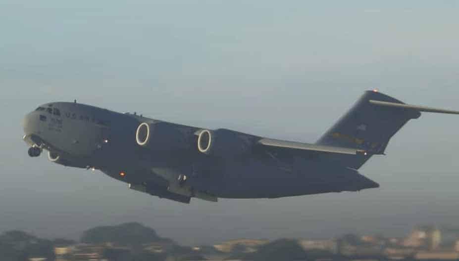 Avião EUA Brasília