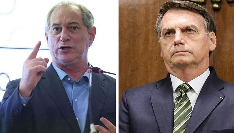 Ciro Gomes apresenta notícia-crime contra Bolsonaro e André Mendonça ao STF