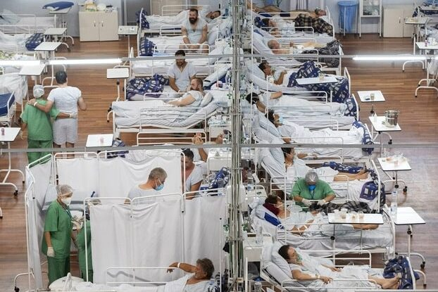 Pandemia explode no Brasil
