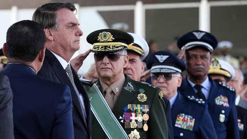novos comandantes Forças Armadas