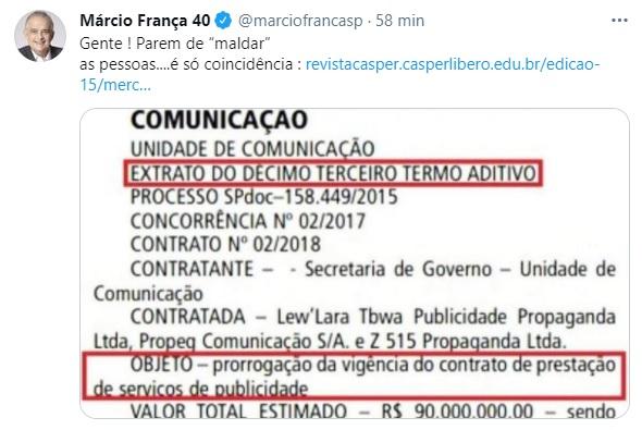 Ex-sócio de Doria ganha contrato de R$ 90 mi do governo de SP