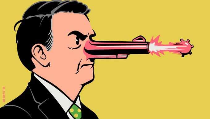 Ciro Gomes enumera 'mentiras' de Bolsonaro no 1º de abril