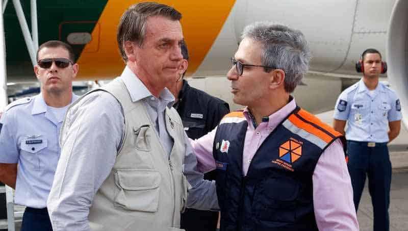 Zema abandona Bolsonaro