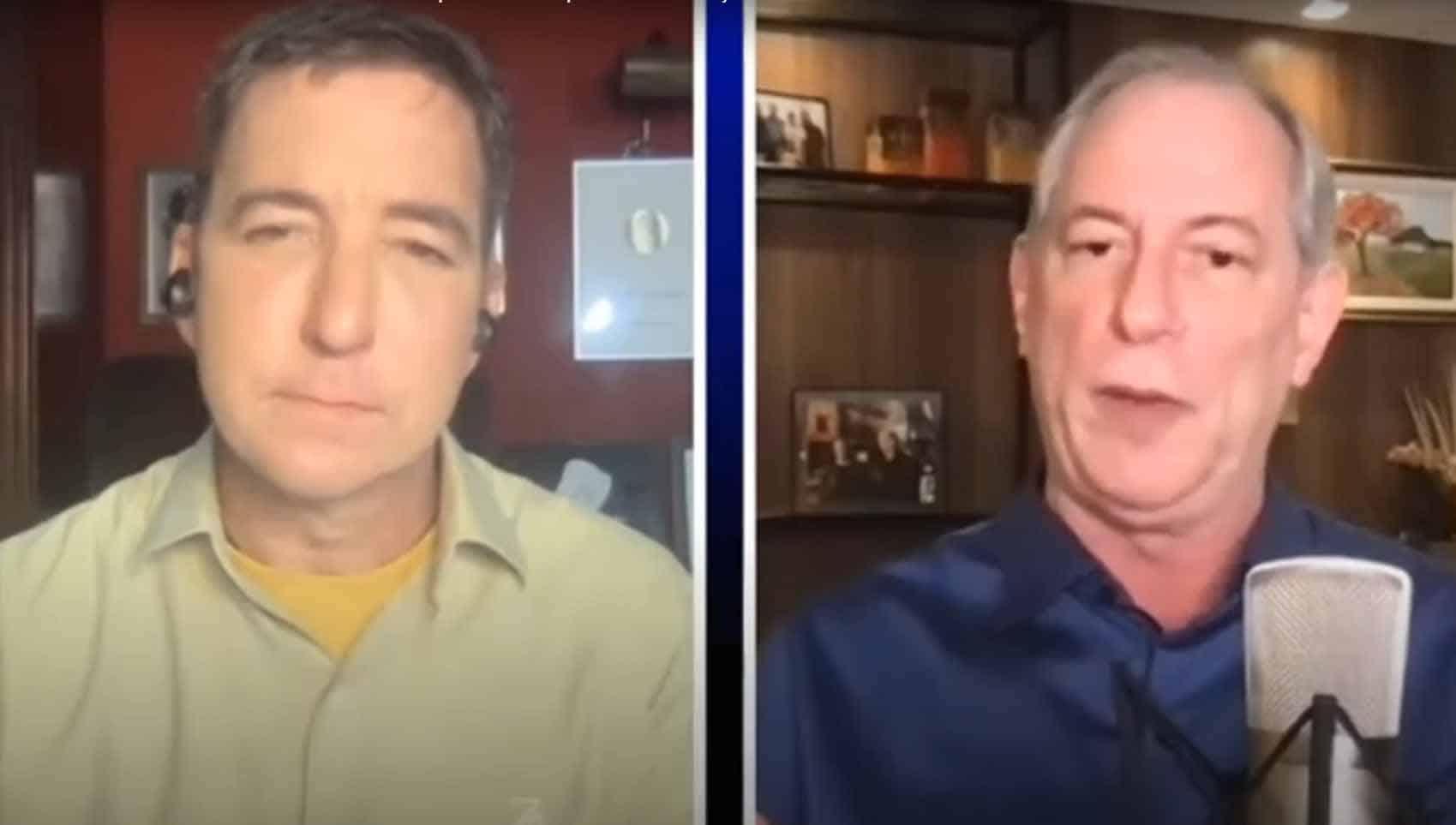 Ciro Gomes concede entrevista bombástica a Glenn Greenwald