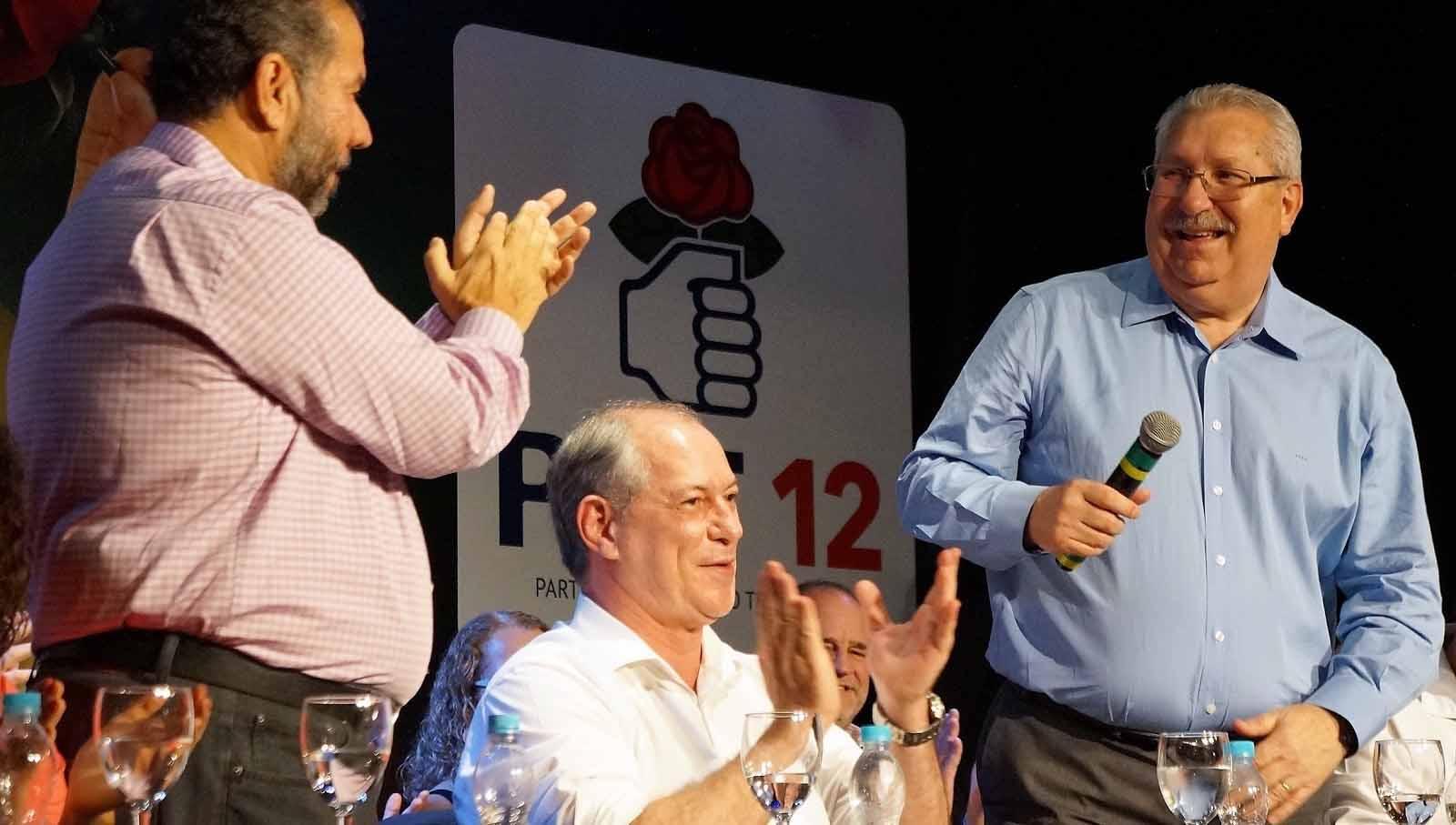 Contra a polarização, 'Agora é Ciro' chega à capital de SP com Antonio Neto e Nelson Marconi