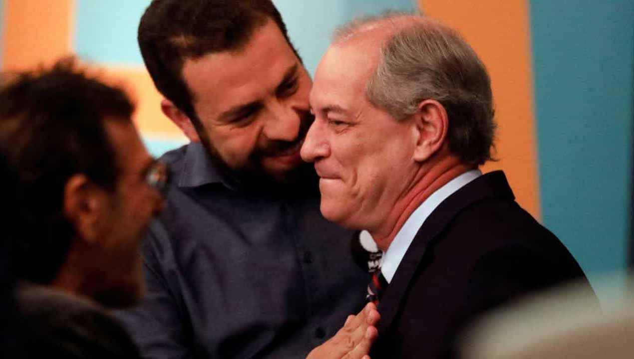 Ciro Gomes (PDT) e Boulos (PSOL) almoçam para discutir eleições de 2022