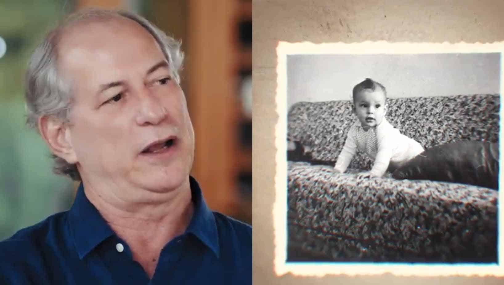 Em 1º vídeo sobre sua vida, Ciro Gomes lembra infância e juventude