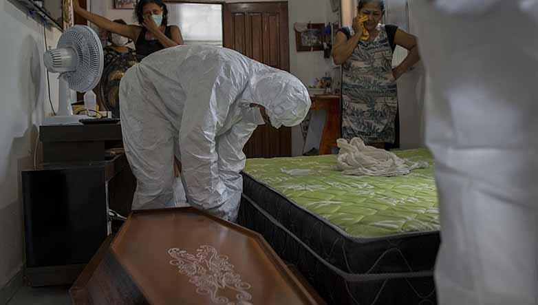 Brasil quadruplica ritmo de mortes e atinge 400 mil mortos por coronavírus