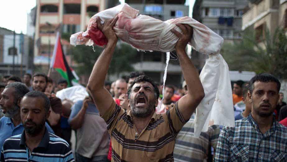genocídio palestino