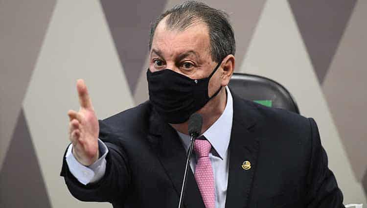 """Presidente da CPI da Covid: """"Gabinete paralelo e recusa de vacinas"""""""