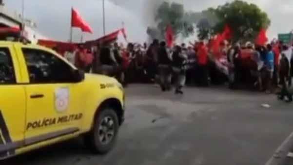 manifestantes bolsonaro alagoas