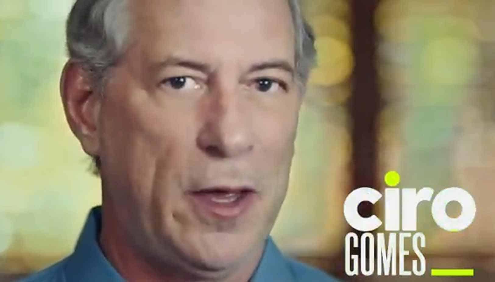 """Ciro Gomes sobre ser """"destemperado"""": """"Não podem me chamar de corrupto"""""""