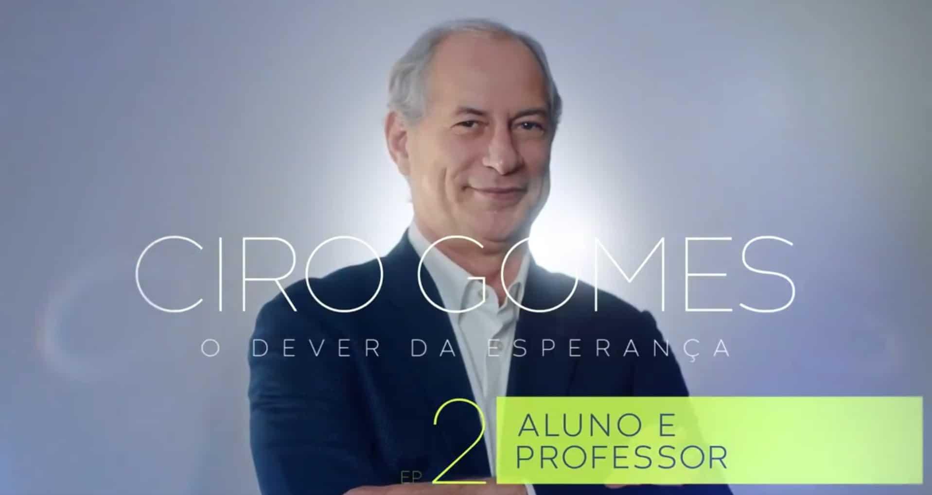 Ciro Gomes aluno professor