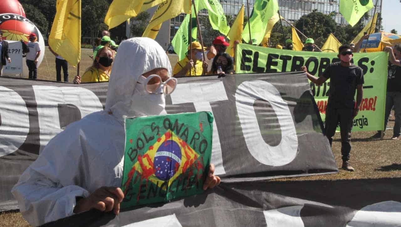Sindicatos e movimentos sociais exigem auxílio emergencial de R$ 600 em ato