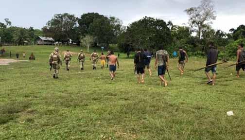 Vídeo: Garimpeiros atiram contra PF em região de conflito em Roraima