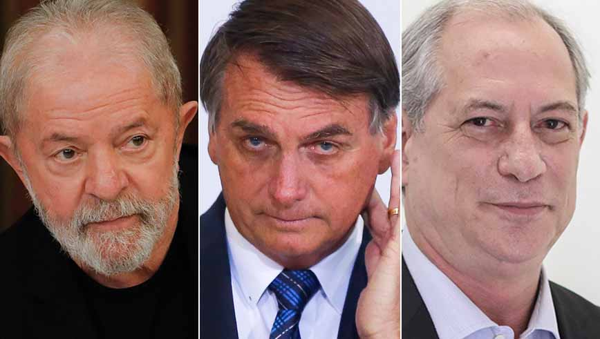 Ciro, Lula e Mandetta venceriam Bolsonaro em 2022, diz pesquisa; Haddad não