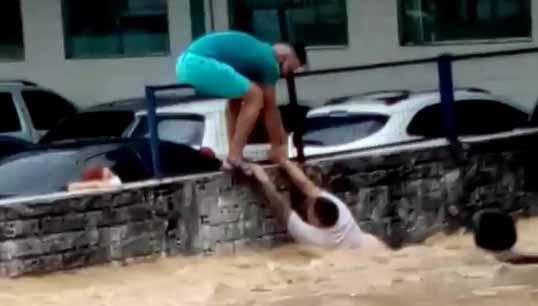 Vídeo enchente Manaus
