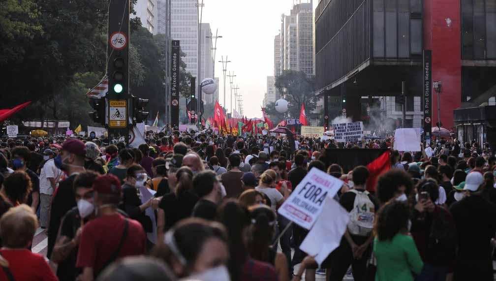 Protestos contra Bolsonaro ocorreram em todos os estados