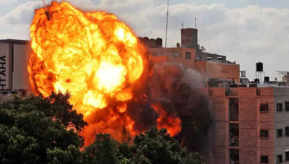 Bombardeios Gaza