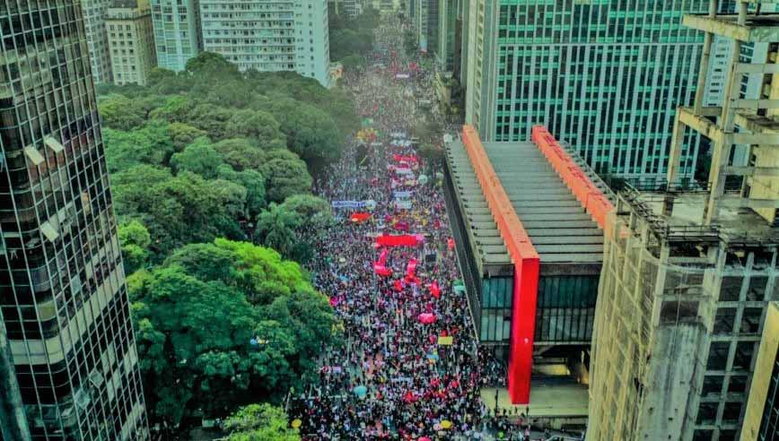 Thiago Manga: Marcha dos 100 mil em SP é o início do fim de Bolsonaro