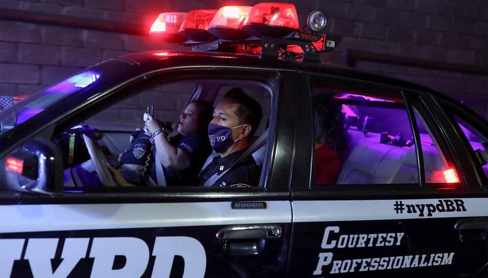 Fãs da polícia dos EUA