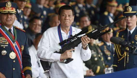 Presidente das Filipinas diz que vai prender quem recusar vacina