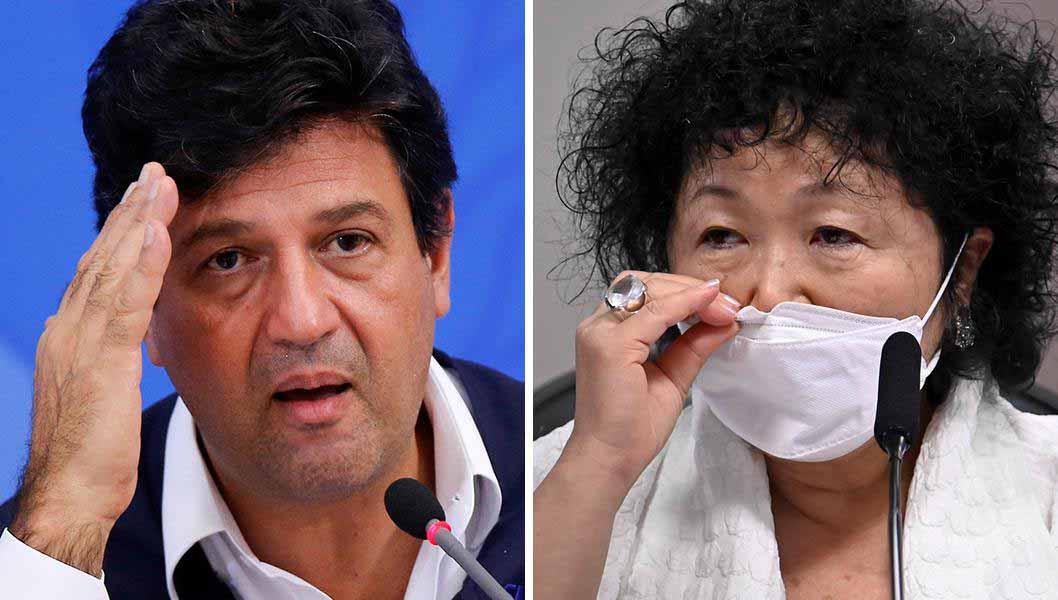 Mandetta: Nise Yamaguchi era 'urubu' que queria alterar bula da cloroquina