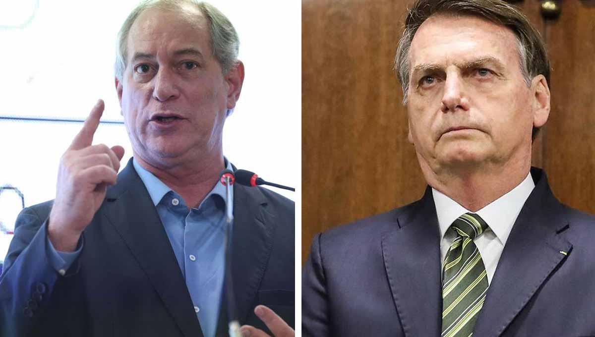 Ciro Gomes vence Bolsonaro no 2º turno com folga, diz pesquisa