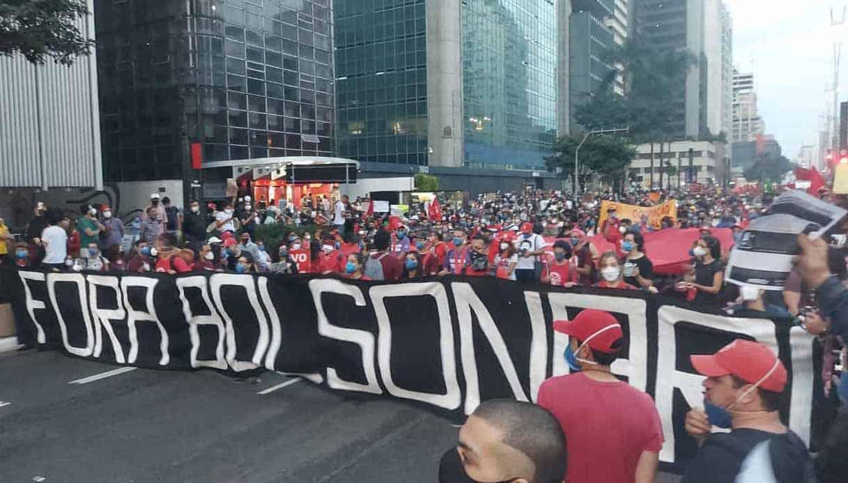 19J: Manifesto da JS-SP pede povo unido por vacina, trabalho e fora Bolsonaro