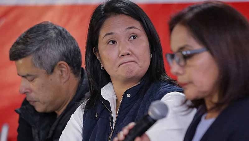 Promotor pede prisão de Keiko Fujimori