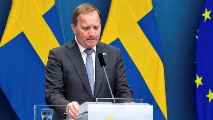 Primeiro-ministro da Suécia é afastado pelo Parlamento