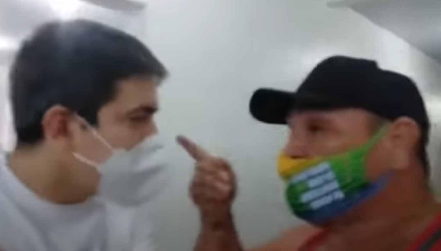Bolsonarista que atacou senador Randolfe