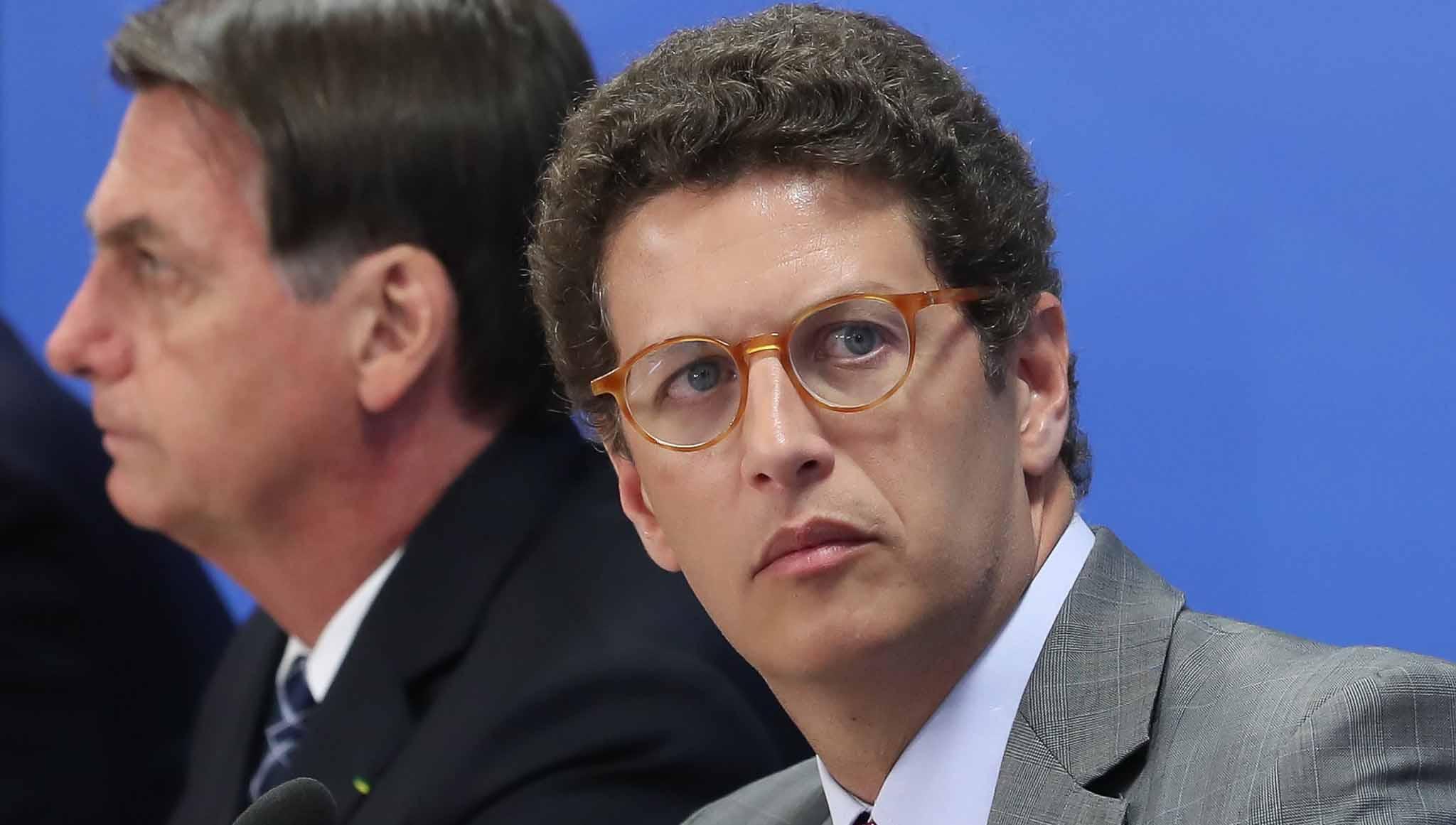 Ricardo Salles pediu demissão