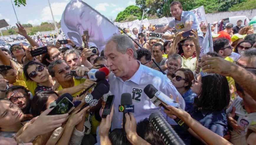 Nem Bolsonaro Nem Lula Ciro