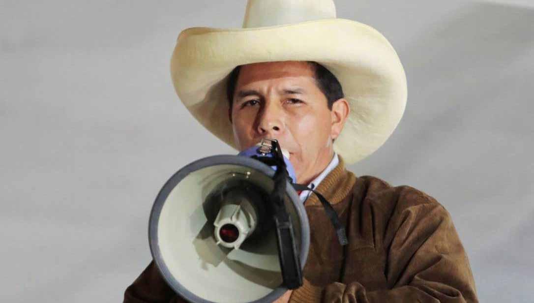 Castillo é o novo presidente do Peru