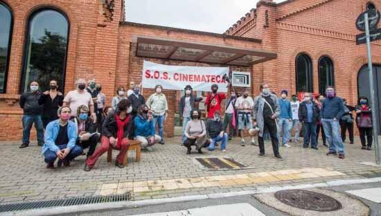 Trabalhadores da Cinemateca