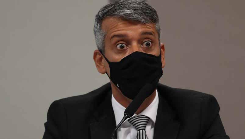 Governo pediu para senadores defenderem Roberto Dias