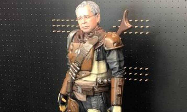 Paulo Guedes mercenário de Star Wars