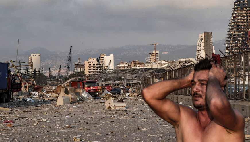Doação prometida por Bolsonaro não chegou ao Líbano