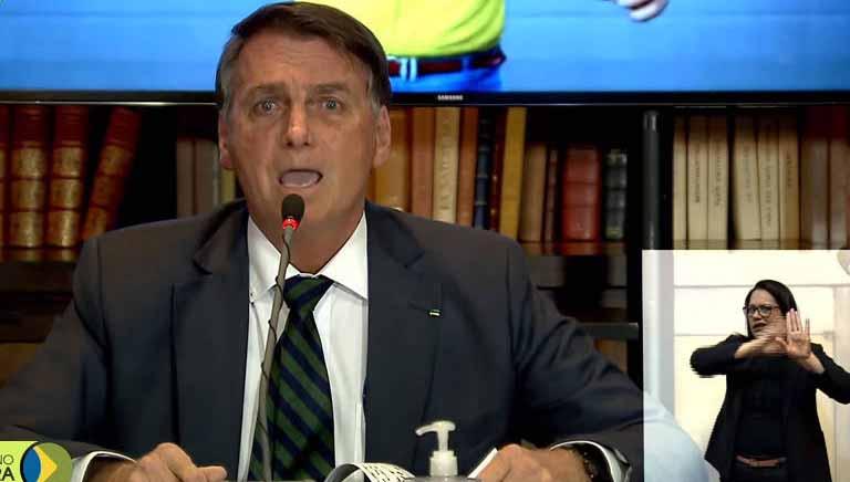 Bolsonaro quebra sigilo de inquérito da PF