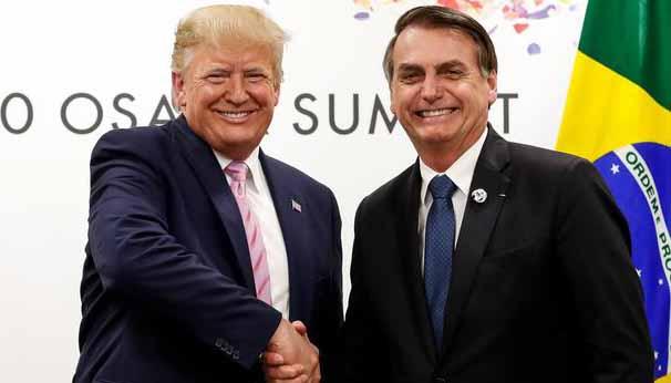 Bolsonaro imita tática de Trump contra eleições