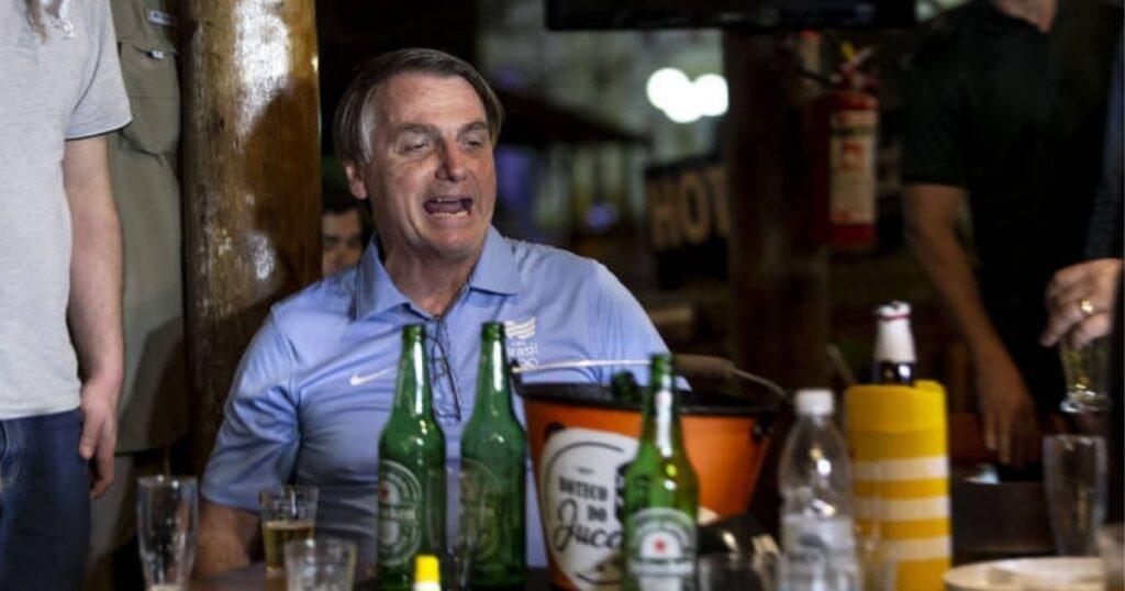 Bolsonaro encerrou expediente