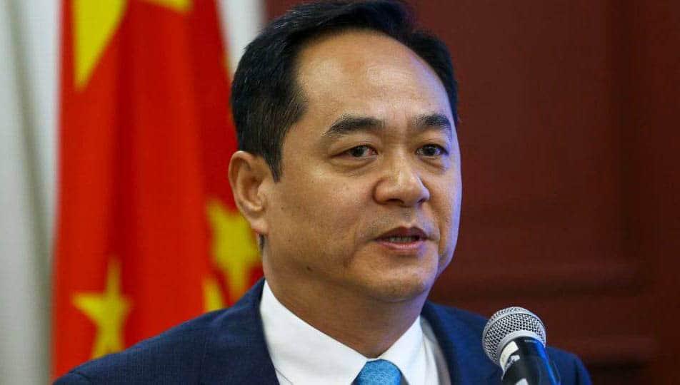 Embaixador chinês celebra prisão de Jefferson