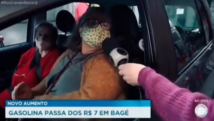 Motorista pede impeachment de Bolsonaro