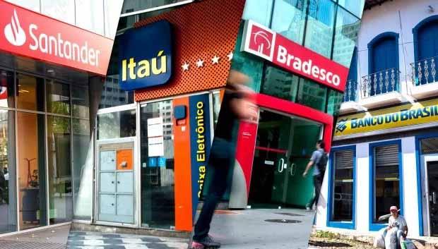 Lucro dos bancos cresce 90% em um ano